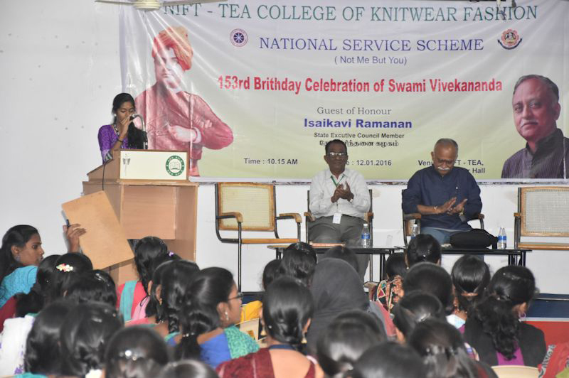 153rd Birthday Celebrations of Swami Vivekananda