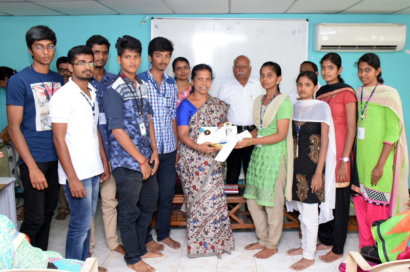Students from 2nd B.Sc(AMM) Won 3rd Prize in the Shortfilm Contest on SAVE OUR BHUMI