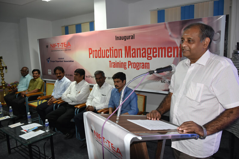 Inaguration of Production Management Training Program