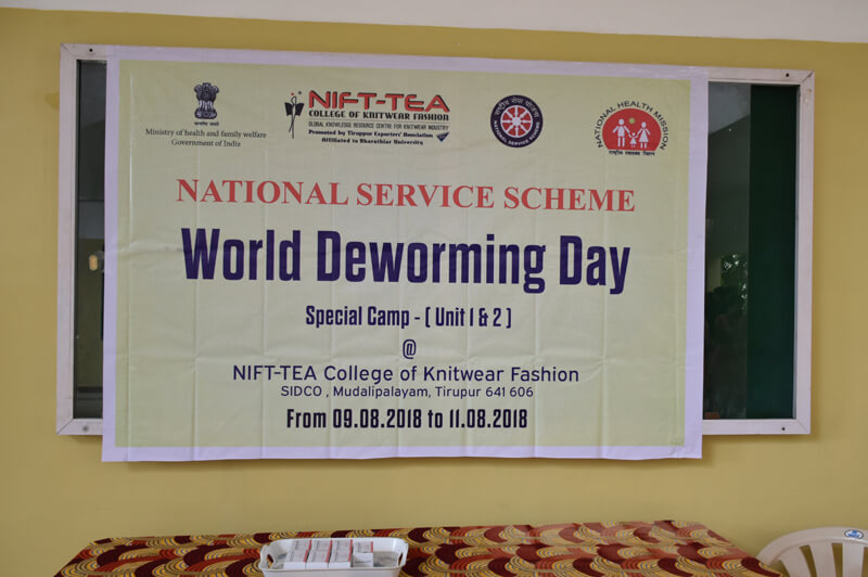 World Dewarming Day - NSS Special Camp