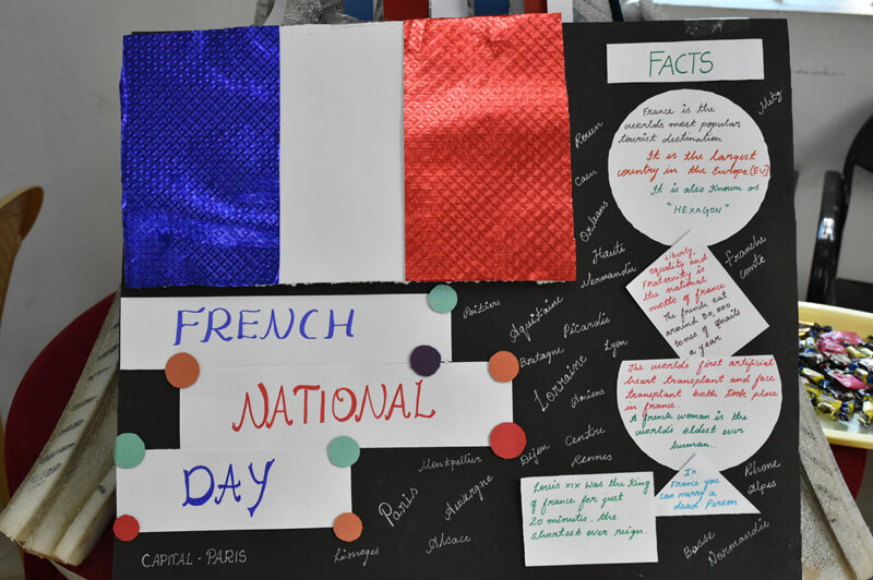 The French Day celebration