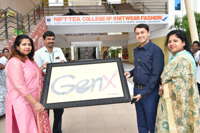 INDIA'S LARGEST ZENTANGLE FOR  LIMCA BOOK OF RECORDS Inauguration