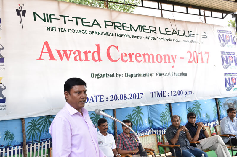 NIFT-TEA Premier League 3 - Award Ceremony 2017