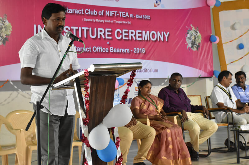 INVESTITURE CEREMONY of ROTRACT OFFICE BEARERS