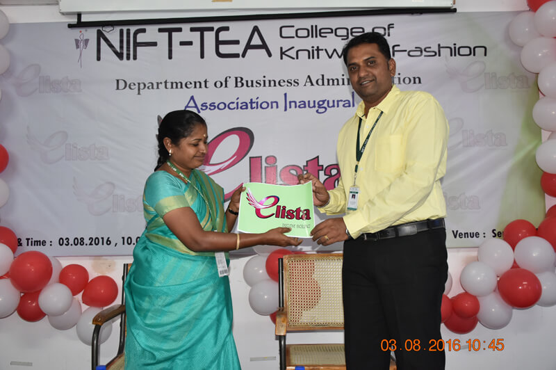 Inauguration of Business Administration Department Association - ELISTA
