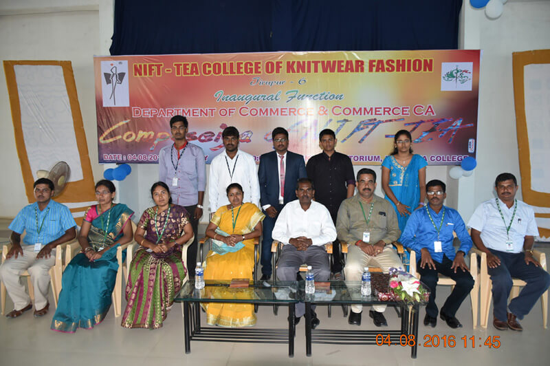 Inauguration of Commerce and Commerce(CA) Department Association - COMPOSEIA OF NIFT-TEA
