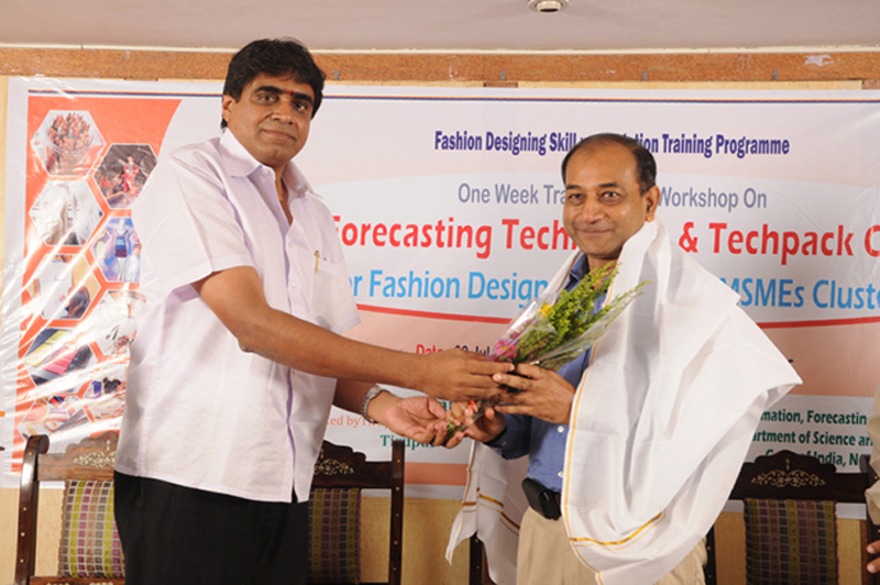 One Week Seminar Cum Workshop on Fashion Forecasting Techniques and Techpack Conception for Fashion Designers of Tirupur MSMEs Cluster