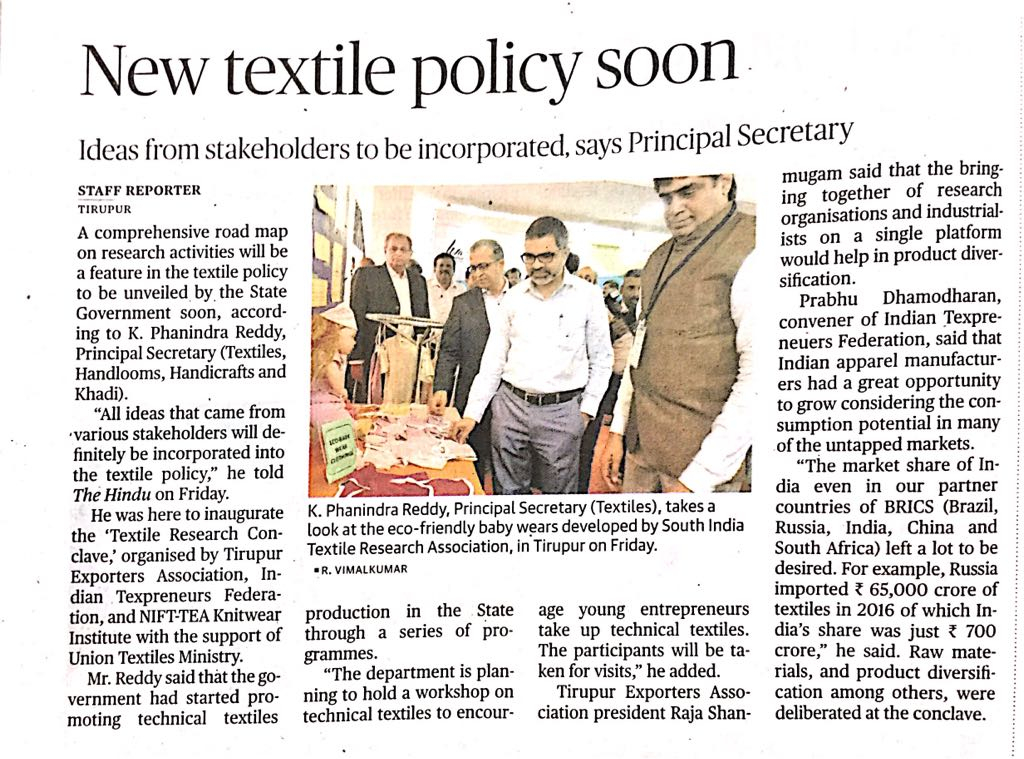 Textile Research conclave