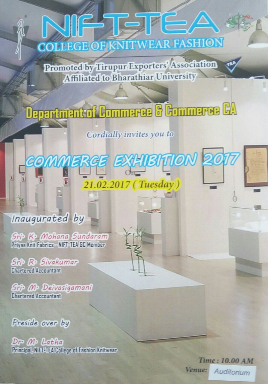 COMMERCE EXHIBITION 2017
