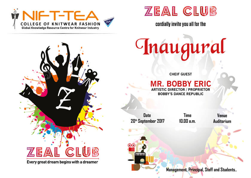 ZEAL CLUB Inauguration