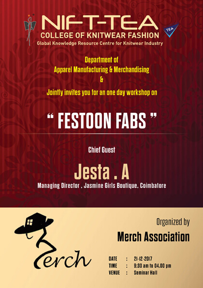 One Day Workshop on FESTOON FABS